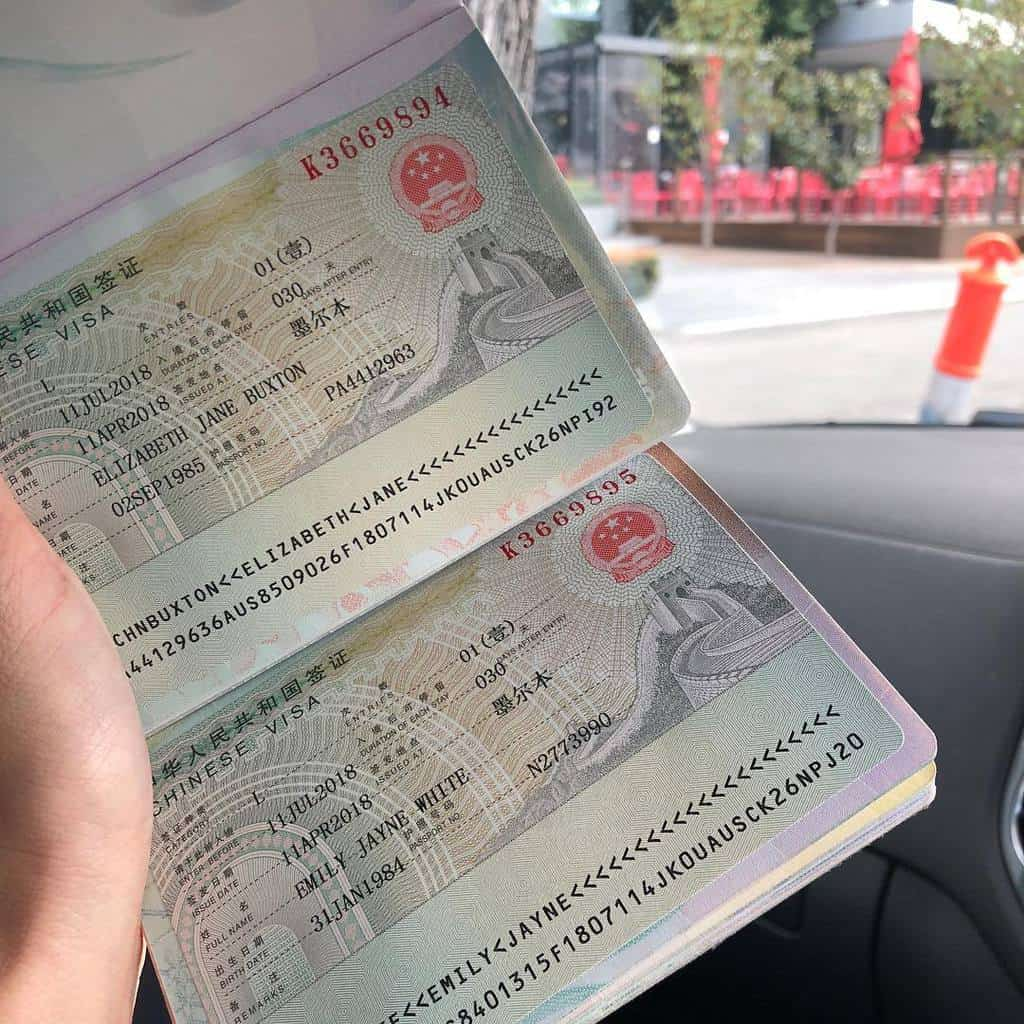 Visa du học Trung Quốc chỉ khoảng 1 triệu đồng