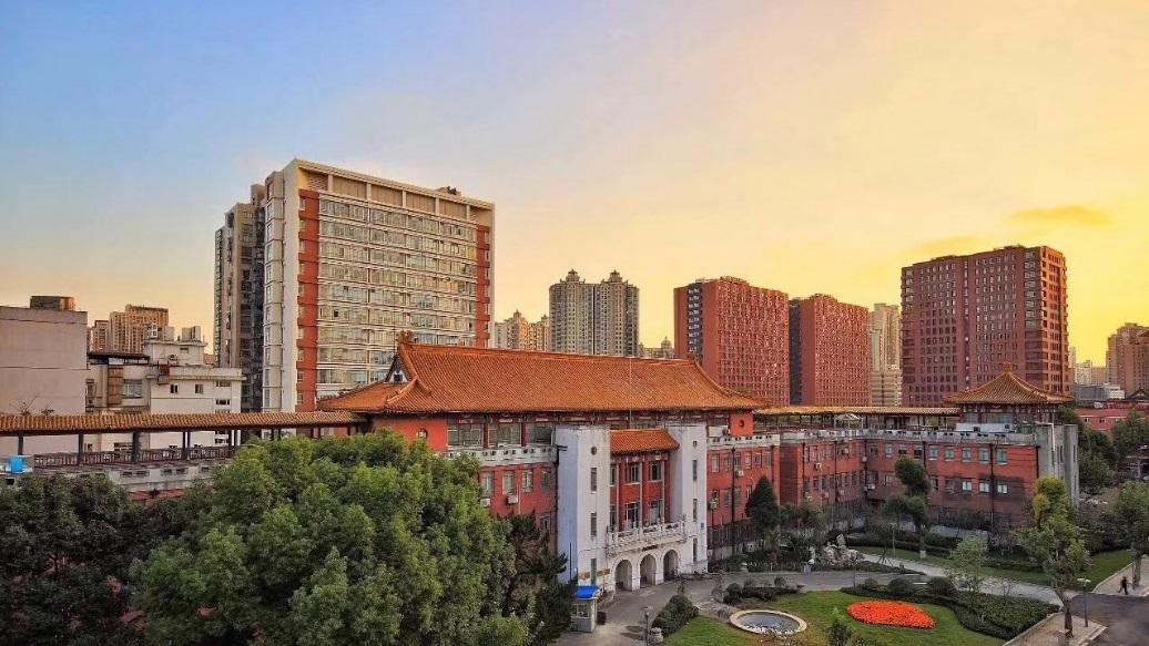 Một góc của trường đại học Phúc Đán Trung Quốc tại Thượng Hải